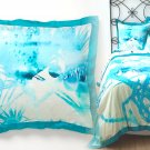 One Anthropologie Lagoa Euro Sham Blue NIP Retial: $98