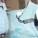 Burberry Bubble Bodysuit (Baby) 6 Months Opal Cotton Machine Wash