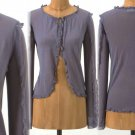 L Anthropologie Clutched Cardigan Cardi Large Grey by Portrait of a Girl