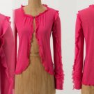 Small Anthropologie Clutched Cardigan Cardi Small Pink $78 by Portrait of a Girl