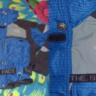 8 North Face Extreme Rendezvous Ski Parka Vest Jacket Medium EUC Vintage Blue Women's