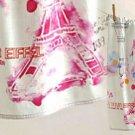 Anthropologie Paris Blueprint Dishtowel Eiffel Tower Colorful Cotton Machine Wash NIP