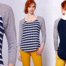 S Anthropologie New Wave Pullover Blue Small 2 4 one.september