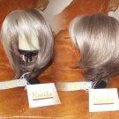 Jolie Monofilament Wig Noriko Sandy Silver Fast Shipping NIB Bob Natural
