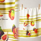 Anthropologie Tumbling Fruits Dishtowel Hostess Wedding Mother Gift