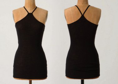 XS Anthropologie Y-Strap Cami $99 Top Tee XSmall Wool VERY SOFT !!!