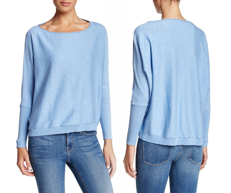 $178 Eileen Fisher Dolman Sleeve Sweater XSmall 0 2 FRBLU