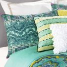 Nanette Lepore Villa Paisley Medallion King Sham Light Blue