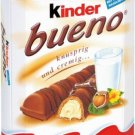 Ferrero Kinder Bueno 6pc Chocolate Bars - Fresh from Germany