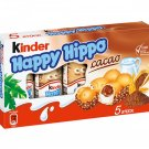 Ferrero Kinder Happy Hippo Cacao - 103.5 g - FRESH from Germany
