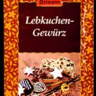Ostmann X-Mas Spices - Lebkuchen Gewuerz - Gingerbread Spice Mix - Made in Germany