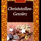 Ostmann X-Mas Spices - Christstollen Gewuerz - Stollen Spice Mix - Made in Germany