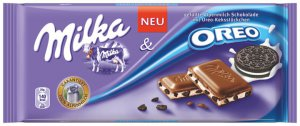 MILKA Chocolate Bar 100g - MILKA + OREO- FRESH from Germany