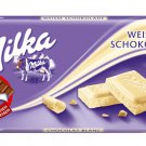 MILKA Chocolate Bar 100g - MILKA WEISSE SCHOKOLADE - FRESH from Germany