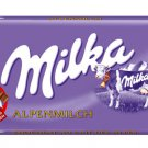 MILKA Chocolate Bar 100g - MILKA ALPENMILCH  - FRESH from Germany