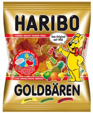 HARIBO ®  -  Goldbären - Gold Bears - FRESH from Germany