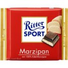 RITTER SPORT Chocolate Bar - Marzipan - 100 g - from Germany- FRESH from Germany