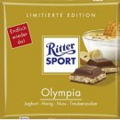 RITTER SPORT Chocolate Bar - Olympia - 100 g - from Germany- FRESH from Germany