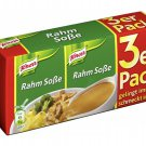 Knorr® Sauce - Knorr®  Rahm Soße / Cream Sauce - 3 x250 ml - FRESH from Germany