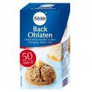 Kuechle ® Back Oblaten - Wafer - 50 mm ø - Gingerbread - Macaroons - Xmas