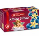 Teekanne Fruechtetee / Fruit Tea - KLEINE SUENDE / LITTLE SIN - 20 tea bags - FRESH from Germany