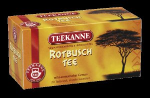 Teekanne Rotbuschtee   Rooibos Tea - 20 tea bags - FRESH from Germany