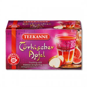 Teekanne Türkischer Apfel / Turkish Apple - 20 tea bags - FRESH from Germany