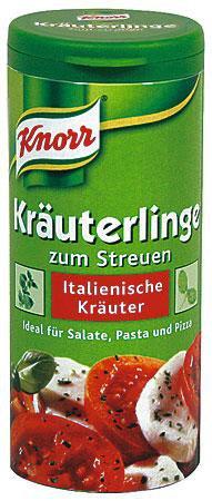 Knorr ® Kräuterlinge Italienische Kräuter / italian herbs - FRESH from Germany