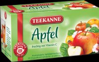 Teekanne Fruechtetee / Fruit Tea - Apfel / Apple - 20 tea bags - FRESH from Germany