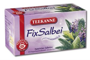 Teekanne Salbei / Sage - 20 tea bags - FRESH from Germany
