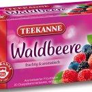 Teekanne Waldbeere / Wild Berry - 20 tea bags - FRESH from Germany