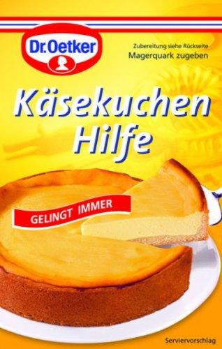 Dr. Oetker - Käsekuchen Hilfe - Cheesecake Helper - FRESH from Germany