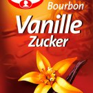 Dr. Oetker Bourbon Vanille Zucker - 3 pc. - FRESH from Germany