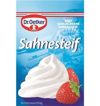 Dr. Oetker Sahne Steif - 5pc. - FRESH from Germany