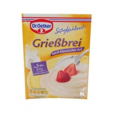 Dr. Oetker Grie�brei Klassik - 2-3 servings - FRESH from Germany