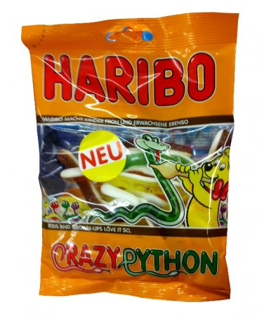 HARIBO ®  - Crazy Python - FRESH from Germany