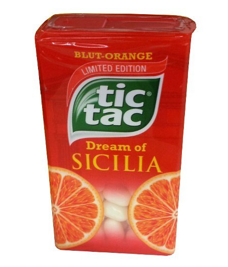 Tic Tac® - Tictac -  Blut-Orange - Dream of Sicilia - FRESH from Germany