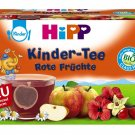 HIPP Kinder Tee Rote Früchte - Red Fruits Tea - FRESH from Germany