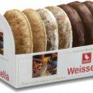 Weiss Meisterklasse Weiche Oblaten Lebkuchen - 3-fach sortiert - 200 gr - FRESH from Germany