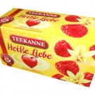 Teekanne Fruechtetee / Fruit Tea - HEISSE LIEBE / HOT LOVE - 20 tea bags - FRESH from Germany