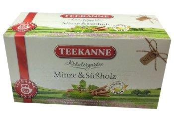Teekanne minze und süßholz