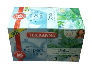 TEEKANNE Harmonie - Detox - 20 tea bags - FRESH from Germany