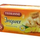 Teekanne Ingwer / Ginger - 20 tea bags - FRESH from Germany