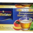 Meßmer Brennnessel-Mango - 20 tea bags - FRESH from Germany