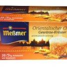 Meßmer Orientalischer Chai - 20 tea bags - FRESH from Germany
