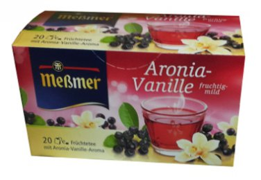 Me�mer Aronia-Vanille - 20 tea bags - FRESH from Germany