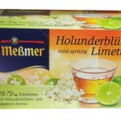 Meßmer Holunderblüte-Limette - 20 tea bags - FRESH from Germany