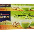 Meßmer Grüner Tee - Ingwer-Honig - 25 tea bags - FRESH from Germany