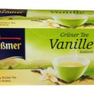 Meßmer Grüner Tee - Vanille - 25 tea bags - FRESH from Germany