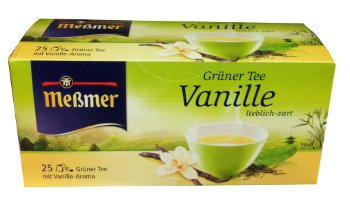 Me�mer Grüner Tee - Vanille - 25 tea bags - FRESH from Germany